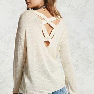 Sweaters - OPEN SUMMER CARDIGAN IN BEIGE